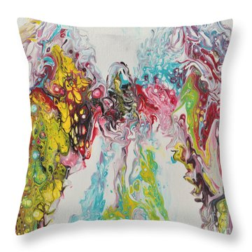 The Angel In Us All Throw Pillow