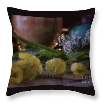 The Art Of Passion Throw Pillow