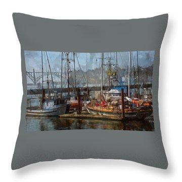 The Bay Throw Pillow