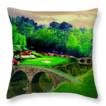 The Beauty Of The Masters 2 Throw Pillow