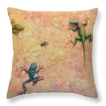 Lizard Throw Pillows