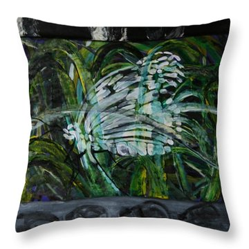 The Big Squeeze Throw Pillow