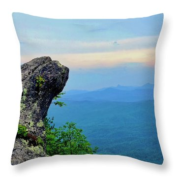 The Blowing Rock Throw Pillow