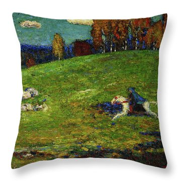 The Blue Rider, 1903 Throw Pillow