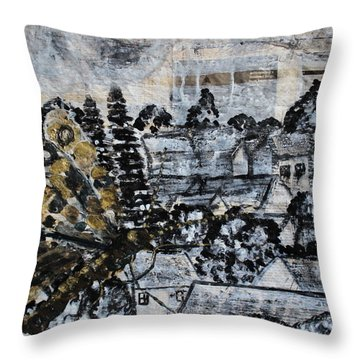 The Butterfly Affect Throw Pillow
