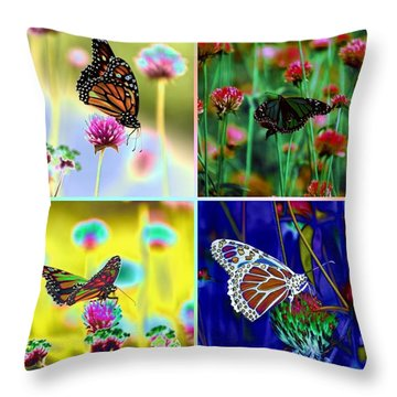 The Butterfly Collection 1. Throw Pillow
