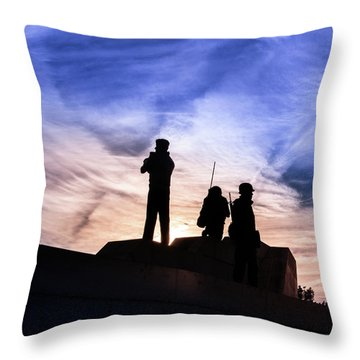 The Canadian Peacekeepers Throw Pillow