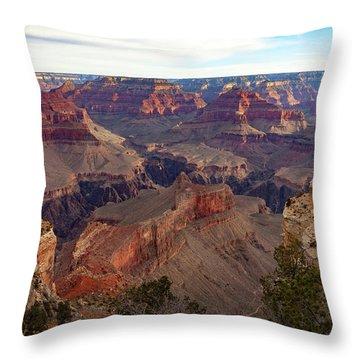 The Canyon Awakens Throw Pillow