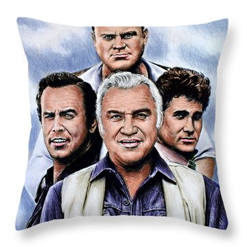 The Cartwrights Colour Ver Throw Pillow