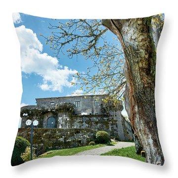 The Castle Of Villamarin Throw Pillow