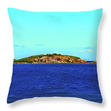The Cay Throw Pillow