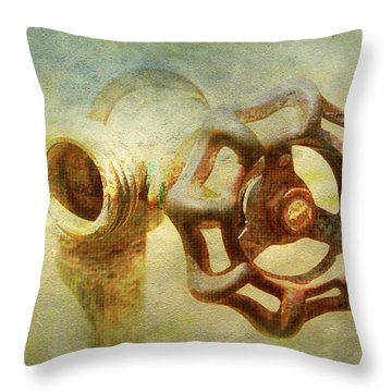 The Childhood Of Summer Throw Pillow
