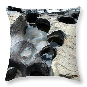 The Chutes Throw Pillow