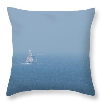 The Coast Guard Throw Pillow