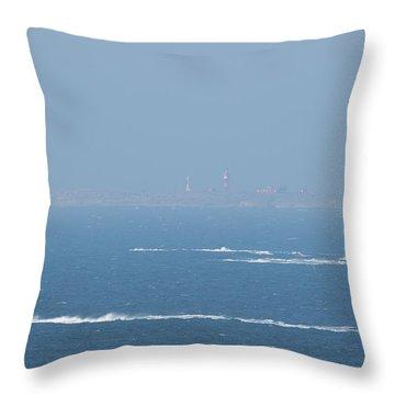 The Coast Guard's Rib Throw Pillow