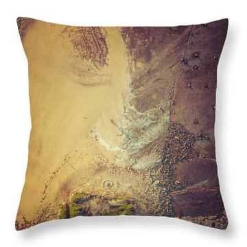 Throw Pillow featuring the photograph The Colours Of Longreef by Chris Cousins