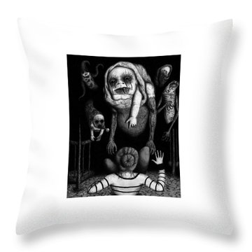 The Corrupted - Artwork Throw Pillow