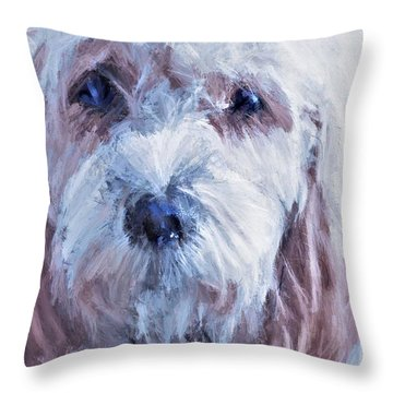 The Darling Throw Pillow