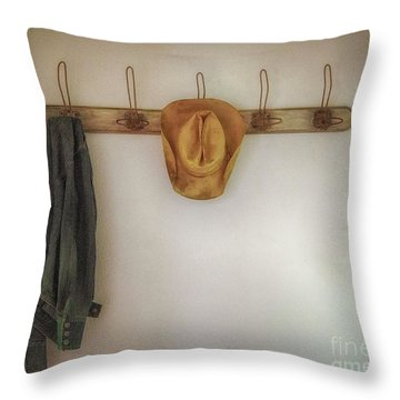 The Day's Leftovers Throw Pillow