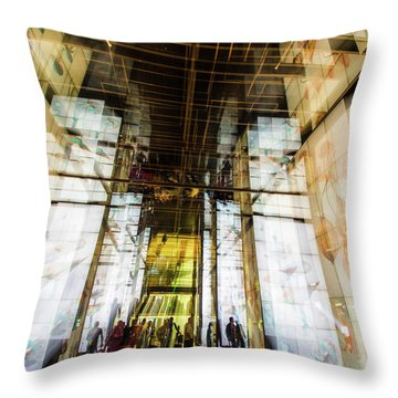 The Delegation Throw Pillow