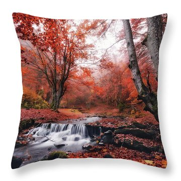 The Delights Of Late Autumn Throw Pillow