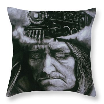 The Demise Throw Pillow
