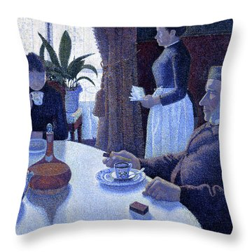 Neo-impressionism Throw Pillows