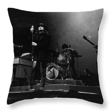 Drum Player Throw Pillows