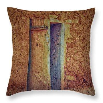 The Doorway Throw Pillow