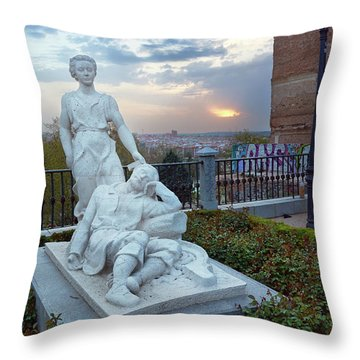The Dream Of San Isidro Throw Pillow