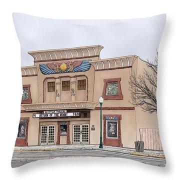 The Egyptian Theatre Throw Pillow