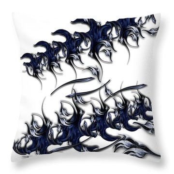 The Emerald Poetry Throw Pillow