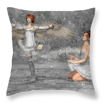 The Enchantment Of Dance Throw Pillow