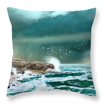 The Eye Of Neptune Throw Pillow