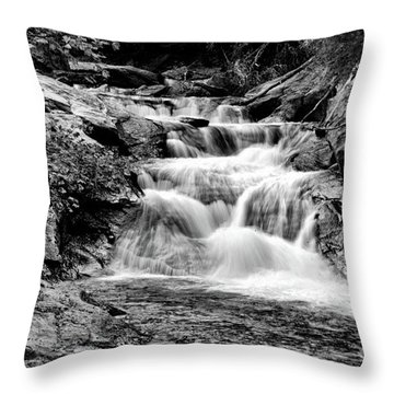 The Falls End Throw Pillow