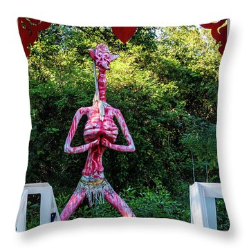 The Fate Of Thieves Throw Pillow