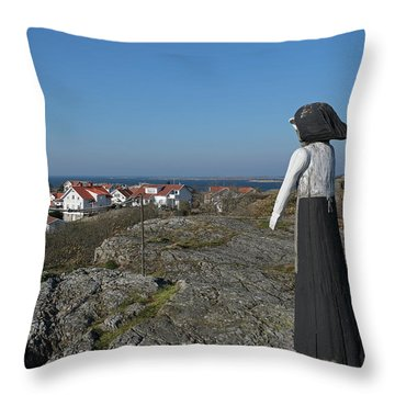 The Fisherman's Wife Throw Pillow