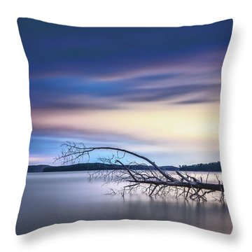 The Floating Tree Throw Pillow