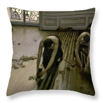 The Floor Planers - Digital Remastered Edition Throw Pillow