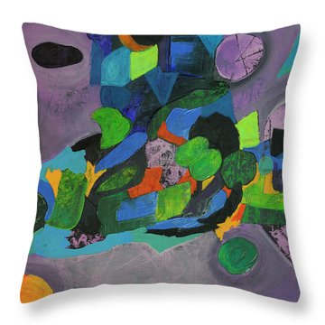 The Force Of Nature Throw Pillow
