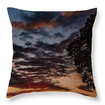 The Friday Before Christmas Throw Pillow