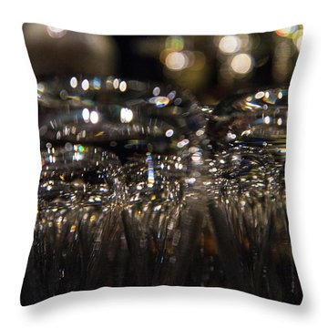 Throw Pillow featuring the photograph The Gleam In Her Eye by Alex Lapidus