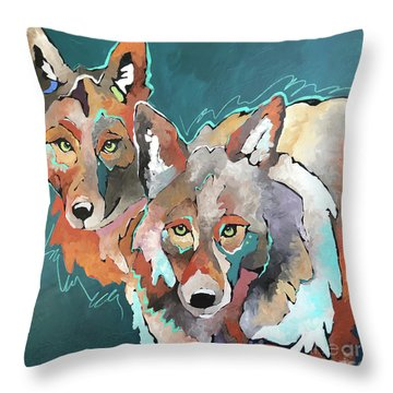 The Godfathers Throw Pillow