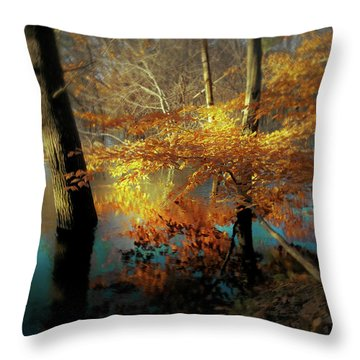 The Golden Bough Throw Pillow