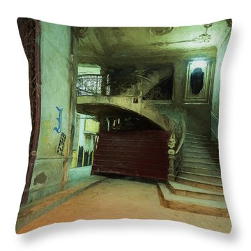 The Grand Entrance Throw Pillow