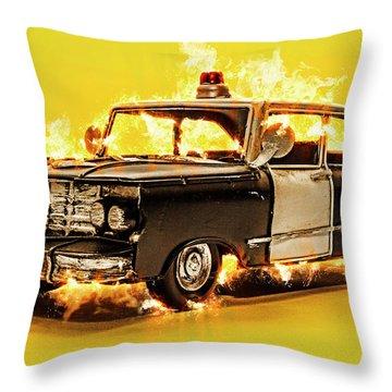 The Heat Throw Pillow
