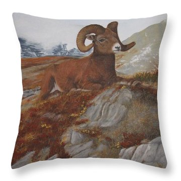 The High Throne Throw Pillow