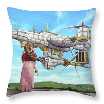 The Highwind Throw Pillow