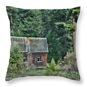 The Homestead Throw Pillow