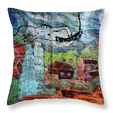 The Hues Brightened Life Seems Good Throw Pillow